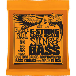 Ernie Ball Ernie Ball - Bass - Long Scale - 6 String - 32-130