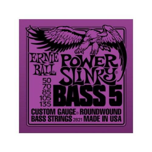 Ernie Ball Ernie Ball - Bass 5 String - Power Slinky - 50-135