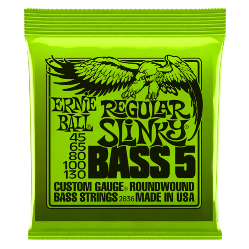 Ernie Ball Ernie Ball - Bass 5 String - Regular Slinky - 45-130