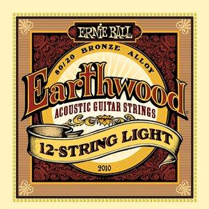 Ernie Ball Ernie Ball - Earthwood 12 String  Light - 80/20 Bronze