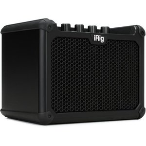 "IK Multimedia iRig IK Multimedia - iRig Micro Amp - 15-watt 1x4"" - Battery Powered Amp with iOS / USB Audio Interface"