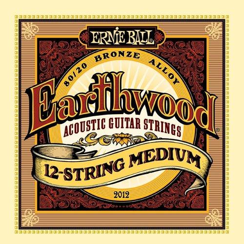 Ernie Ball Ernie Ball - Earthwood 12 String  Medium - 80/20 Bronze