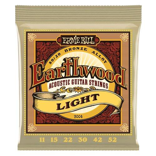 Ernie Ball Ernie Ball - Earthwood  Light - 80/20 Bronze - 11-52