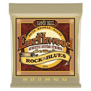 Ernie Ball Ernie Ball - Earthwood  Rock/Blues - 80/20 Bronze - 10-52