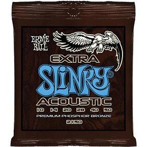 Ernie Ball Ernie Ball - Extra Slinky Acoustic Phosphor Bronze Strings - 10-50