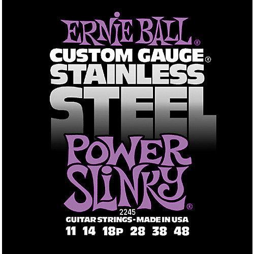 Ernie Ball Ernie Ball - Stainless Steel Power Slinky - 11-48