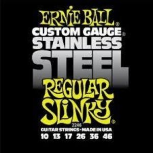 Ernie Ball Ernie Ball - Stainless Steel Regular Slinky - 10-46