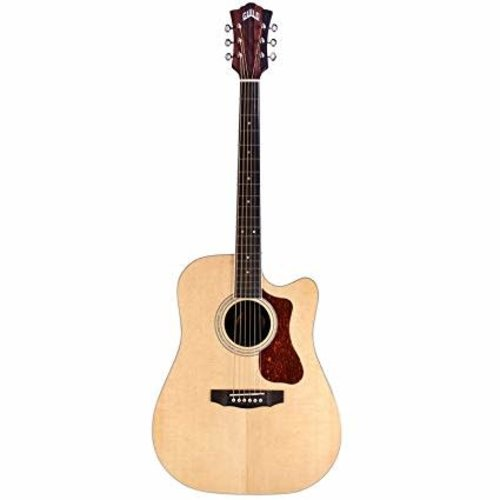 Guild Guitars Guild - D-260CE Deluxe - Natural - Dreadnought - Acoustic-Electric Guitar