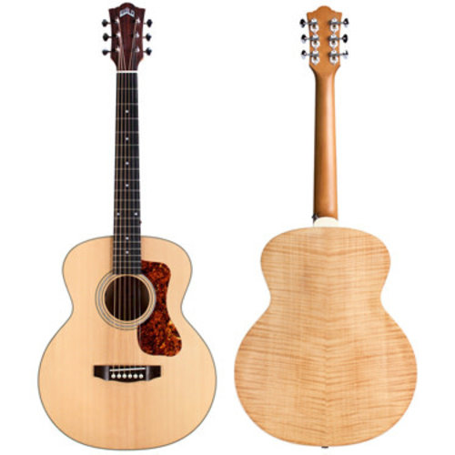 Guild Guitars Guild - Jumbo Junior- Guitar - E SP/FM ANT - Blonde **