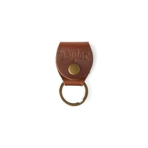 Taylor Guitars Taylor - Key Ring w/Pick Holder - Brown