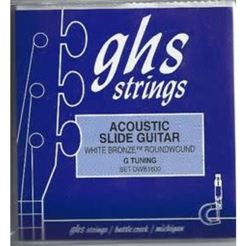 GHS GHS - Acoustic Slide Guitar Strings