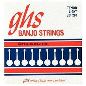GHS GHS - Banjo - Light Tenor Strings  - Stainless Steel