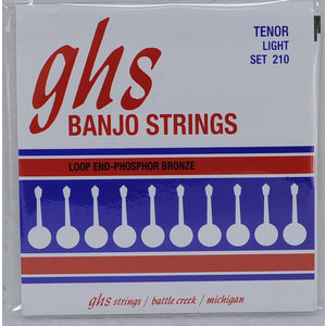 GHS GHS - Banjo - Light Tenor Strings  - Phosphor Bronze