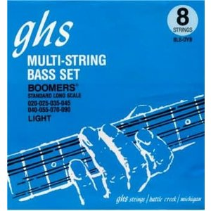 GHS GHS - Bass Multi-String - 8 String Bass - 18-105