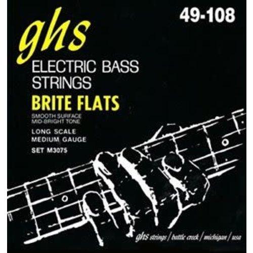 GHS GHS - Bass Brite Flat - MEDIUM - 49-108