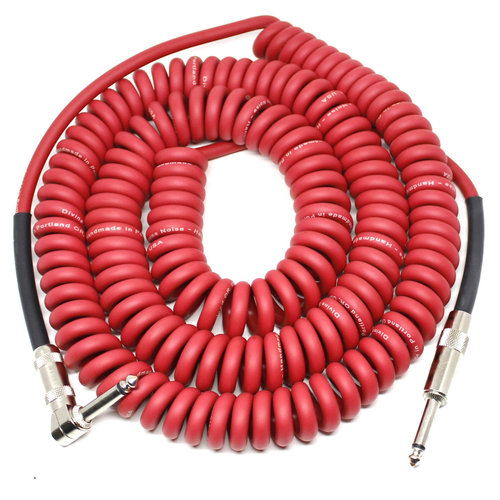 Divine Noise Divine Noise - Cable - 30ft - Curly - ST-RA - Red