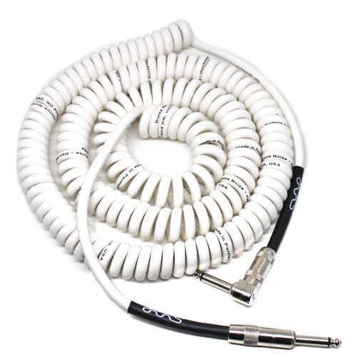 Divine Noise Divine Noise - Cable - 30ft - Curly - ST-RA - White
