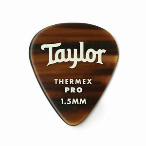 Taylor Guitars Taylor - Premium Darktone 651 - Thermex Pro Guitar Picks - 1.50mm - (SINGLE) Tortoise Shell