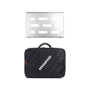 Mono Cases Mono - M80 Pedal Board - Small with M80 Club 2.0 Case - Silver