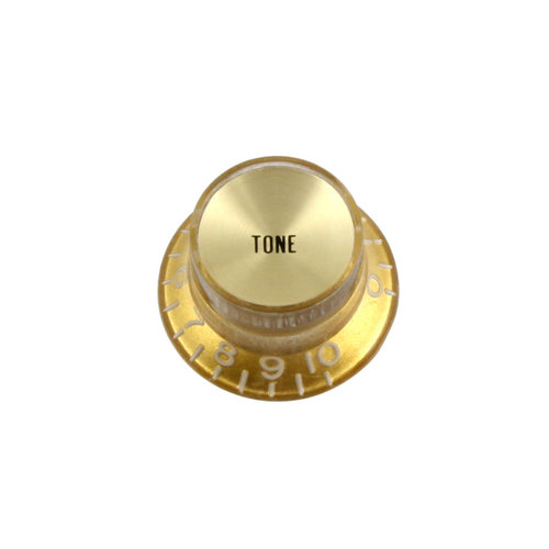 Allparts Allparts - Tone Knobs - Pack of 2 - Gold Reflector