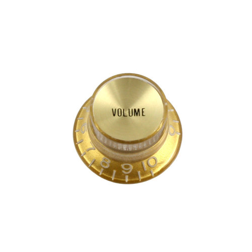 Allparts Allparts - Volume Knobs - Pack of 2 - Gold Reflector