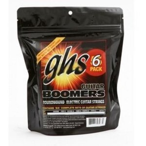 GHS GHS - Boomers Electric Guitar Strings - 6 PACK  - 9-42