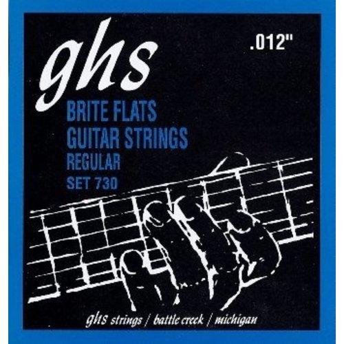 GHS GHS - Brite Flats  Regular - 730 Set - 12-54