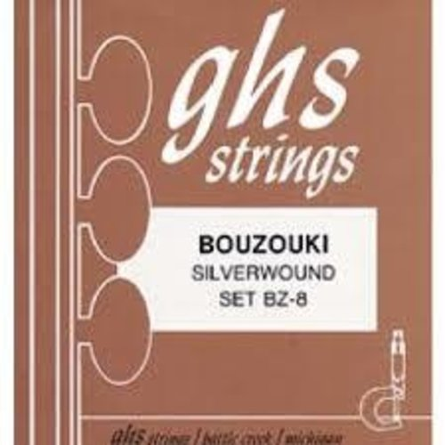 GHS GHS - Bouzouki Strings - Silverwound