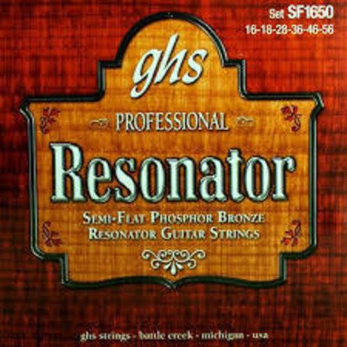 GHS GHS - Resonator Semiflat - Phosphor Bronze - SF1650