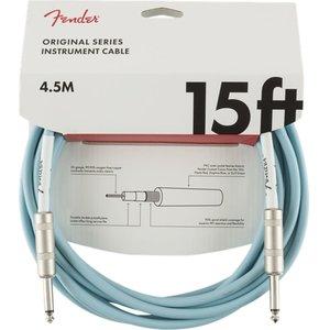 Fender Fender - Original - Instrument Cable - 15'ft - ST/ST - Daphne Blue