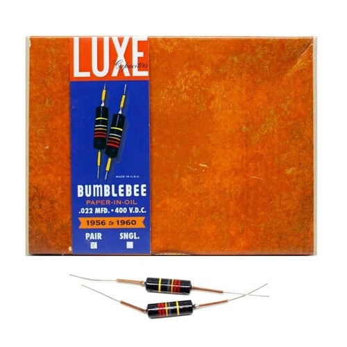 Luxe Capacitors Luxe Capacitors - Bumblebee Kit of two .022mf/400vcd