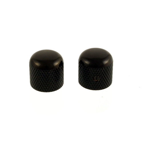 Allparts Allparts - Metal Knobs - Black