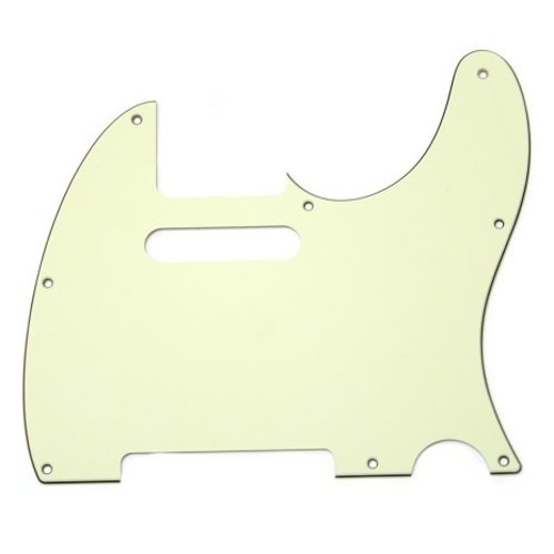 Allparts Allparts - Pickguard for Tele - Mint Green