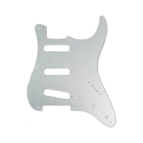 Allparts Allparts - Pickguard for Stratocaster - SSS  - Mirror