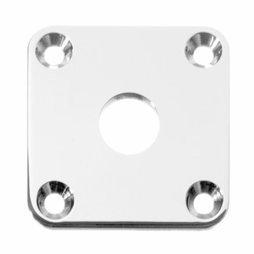 Allparts Allparts - Jackplate - for Les Paul - Nickel