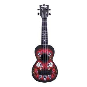 Kala Music Kala - Ukulele - Soprano Acoustic Ukulele - Skulls