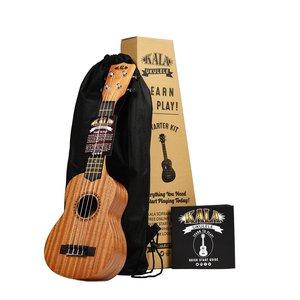 Kala Music Kala - Ukulele - Soprano Starter Kit - Learn to Play