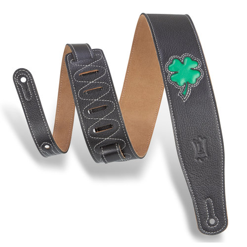 "Levy's Leathers Levy's - 2.5"" Wide Garment Leather Guitar Strap - MGS26L-002"