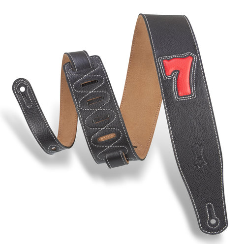 """Levy's Leathers Levy's - 2.5"""" Wide Garment Leather Guitar Strap - MGS26L-003"""