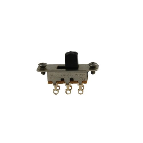 Allparts Allparts - On-On Slide Switch - Black Knob