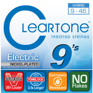 Cleartone - Everly Cleartone - Electric Nickel Plated - Hybrid - 9-46