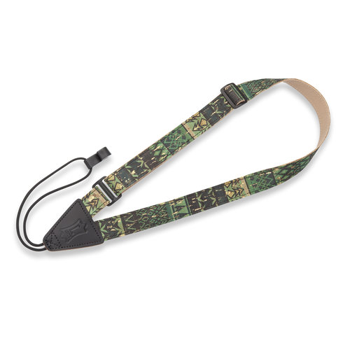 """Levy's Leathers Levy's - 1"""" Wide Cork Classical and Ukulele Strap - MX23-003"""