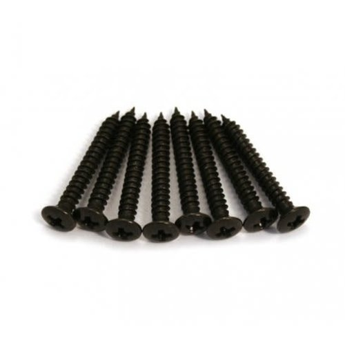Allparts Allparts - Humbucking Ring Screws - Black - SINGLE *From Bulk*