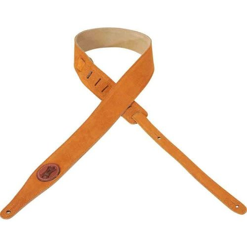 Levy's Leathers Levy's - 2″ Suede Leather Guitar Strap - MS217-HNY