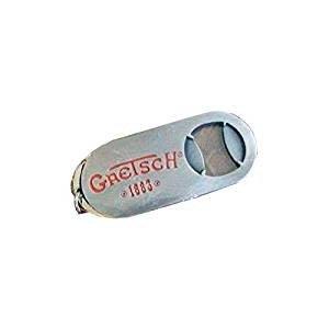 Fender Gretsch - Bottle Opener - Logo Keychain - Brushed Aluminum