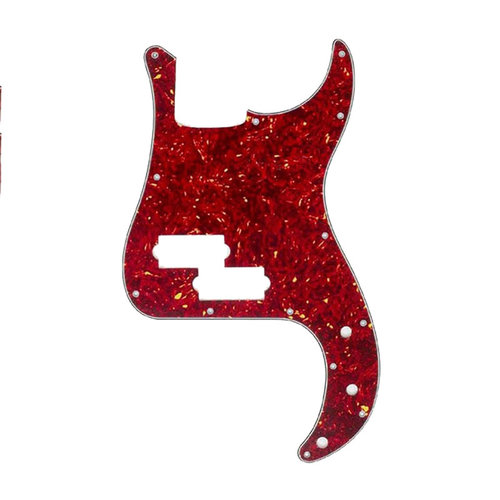 Allparts Allparts - Pickguard for P. Bass - Red Tortoise
