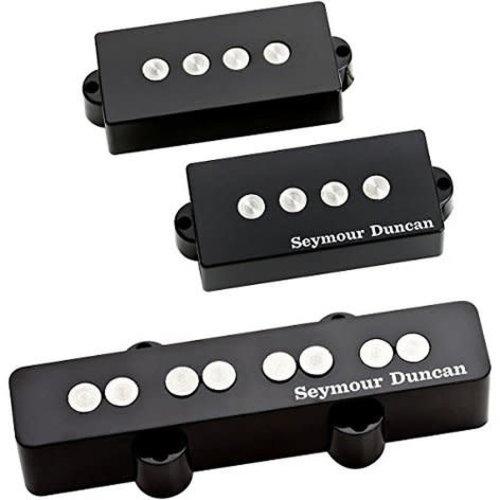 Seymour Duncan Seymour Duncan - Quarter Pound Pickup - For PJ Bass - 4 Strings - SET - Black