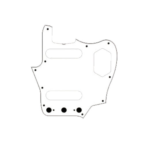 Allparts Allparts - Jaguar Pickguard - White