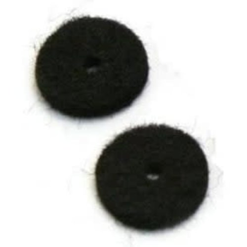 Allparts Allparts  - Felt Washers - Black - SINGLE *From Bulk*