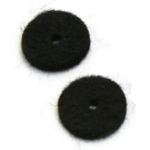Allparts Allparts  - Felt Washers - Black - SINGLE *From Bulk*